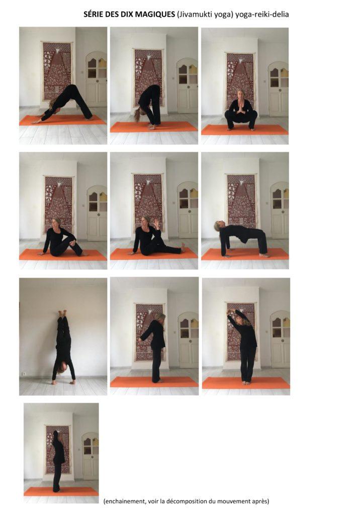 les dix magiques yoga reiki arles